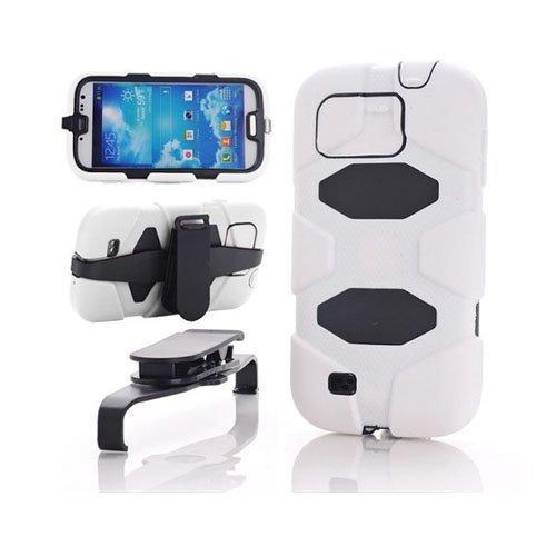 Adventurer Valkoinen Samsung Galaxy S4 Suojakuori
