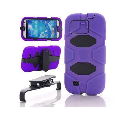 Adventurer Violetti Samsung Galaxy S4 Suojakuori