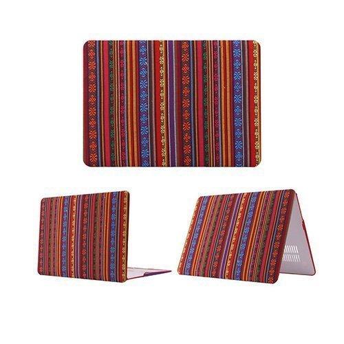 African Tribal Macbook Pro 13.3 Retina Suojakotelo Värikkäät Raidat