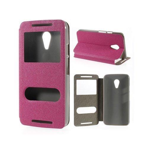 Ahlmark Kuuma Pinkki Motorola Moto G2 Nahkakotelo