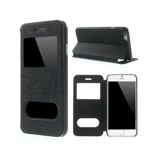 Ahlmark Musta Iphone 6 Nahkakotelo