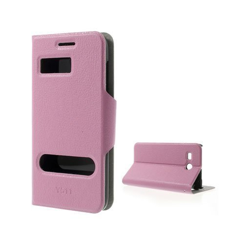 Ahlmark Pinkki Huawei Ascend Y511 Nahkakotelo
