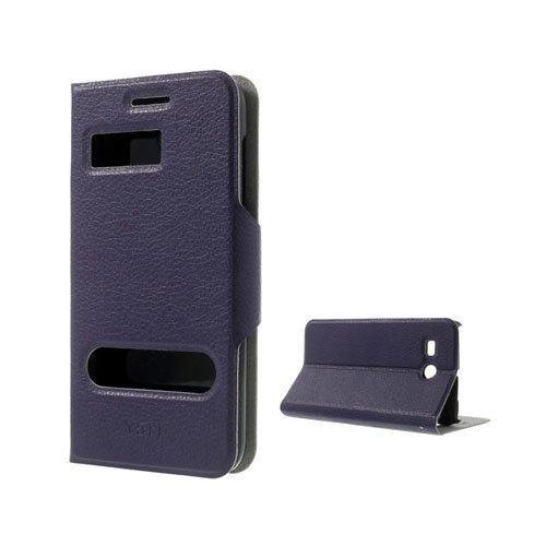 Ahlmark Violetti Huawei Ascend Y511 Nahkakotelo