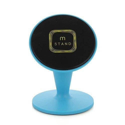 Aholdb Ms2 360-Astetta Kääntyvä Magneettinen Pöytäteline Älypuhelimille Ja Tableteille Sininen