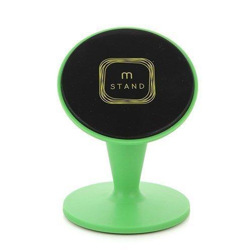 Aholdb Ms2 360-Astetta Kääntyvä Magneettinen Pöytäteline Älypuhelimille Ja Tableteille Vihreä
