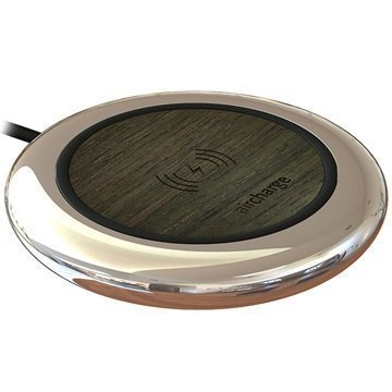 AirCharge Executive Qi Wireless Charger Ebony Veneer