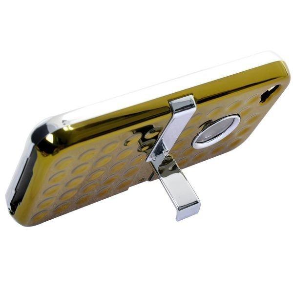 Airo Chrome Keltainen Iphone 4s Suojakuori Standillä