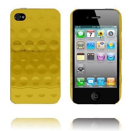 Airo Chrome Kulta Iphone 4 Suojakuori Standillä