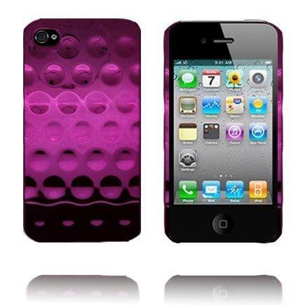 Airo Chrome Pinkki Iphone 4 Suojakuori