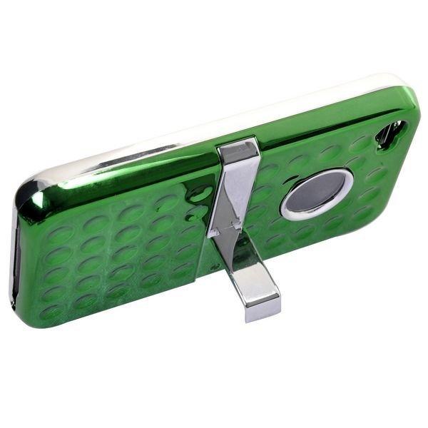 Airo Chrome Vihreä Iphone 4s Suojakuori Standillä