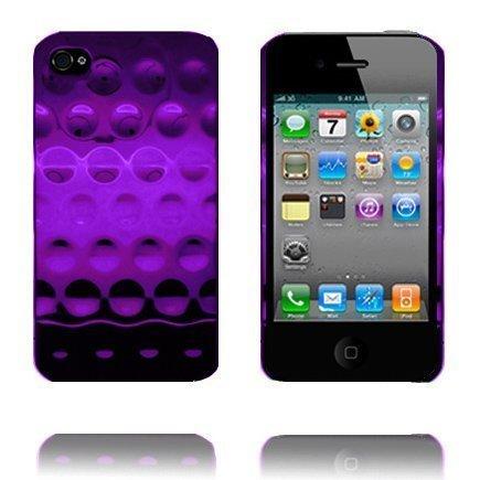 Airo Chrome Violetti Iphone 4 Suojakuori Standillä