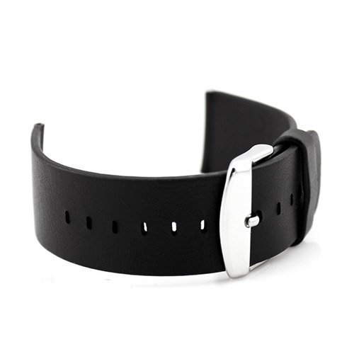 Aito Leather Wristband For Apple Watch 38mm Musta