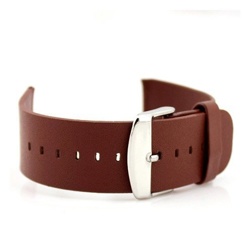 Aito Leather Wristband For Apple Watch 38mm Ruskea