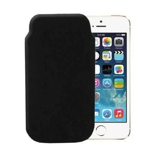 Aito Nahkatasku Iphone 5 Musta