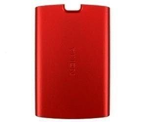 Akku kansi Nokia 5250 red Alkuperäinen