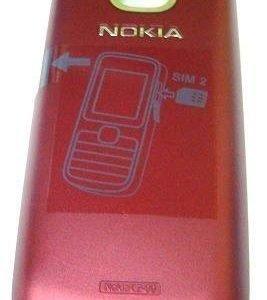 Akku kansi Nokia C2-00 red Alkuperäinen
