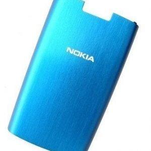 Akku kansi Nokia X3-02 blue Alkuperäinen