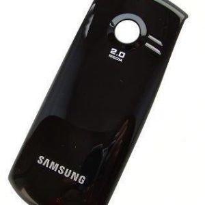 Akku kansi Samsung C3200 musta Alkuperäinen