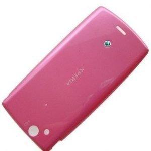 Akku kansi Sony Ericsson Xperia LT15i Arc/ LT15a Arc/ LT18i Arcs/ LT18a Arcs pink Alkuperäinen