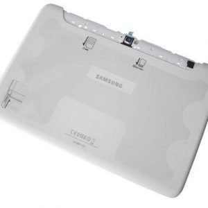 Akkukansi / Takakansi 16GB Samsung N8000 Galaxy Note 10.1 valkoinen