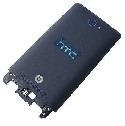 Akkukansi / Takakansi HTC Ikkunas Phone 8S Domino A620e blue