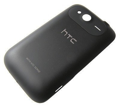 Akkukansi / Takakansi HTC Wildfire S A510e musta
