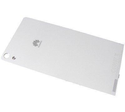 Akkukansi / Takakansi Huawei Ascend P6 valkoinen