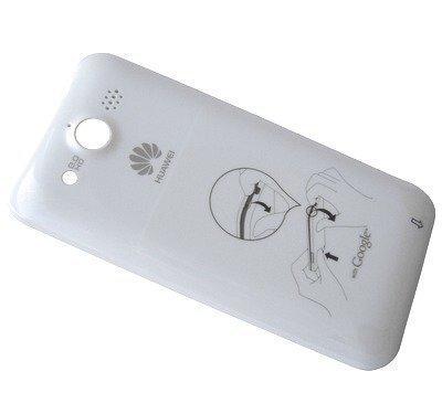 Akkukansi / Takakansi Huawei U8860 Honor valkoinen