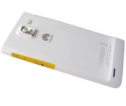 Akkukansi / Takakansi Huawei U9200 Ascend P1/ Ascend P2 valkoinen