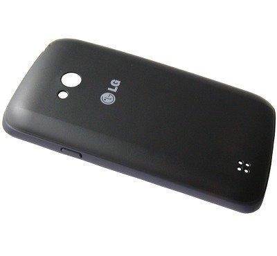 Akkukansi / Takakansi LG D213N L50 musta blue