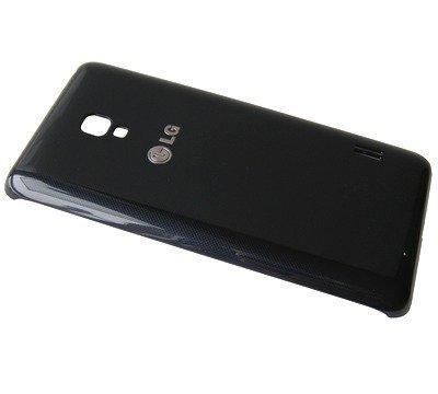 Akkukansi / Takakansi LG D505 Optimus F6 musta