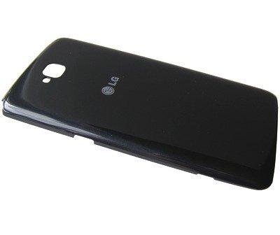 Akkukansi / Takakansi LG D686 G Pro Lite Dual musta