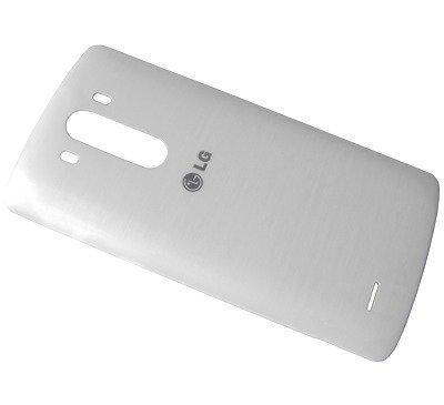 Akkukansi / Takakansi LG D855 G3 valkoinen