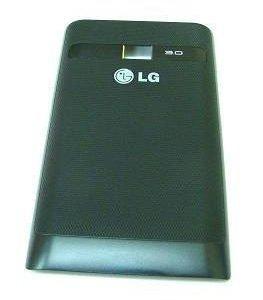 Akkukansi / Takakansi LG E400 Optimus L3 musta