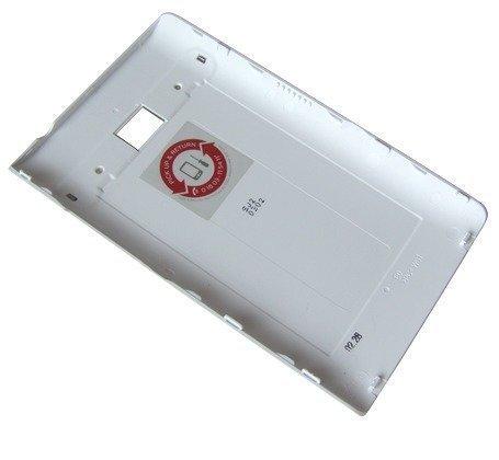 Akkukansi / Takakansi LG E400 Optimus L3 valkoinen