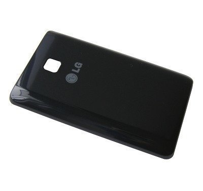 Akkukansi / Takakansi LG E430 Optimus L3 II musta