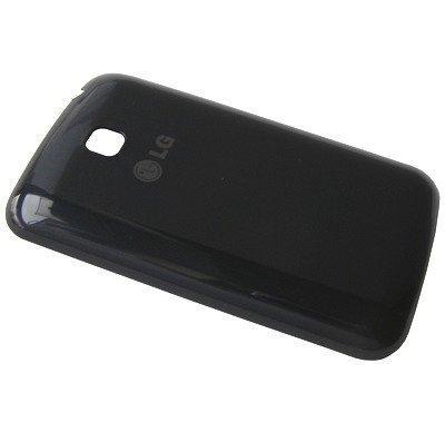 Akkukansi / Takakansi LG E435 Optimus L3 II Dual musta