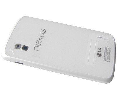Akkukansi / Takakansi LG E960 Google Nexus 4 valkoinen