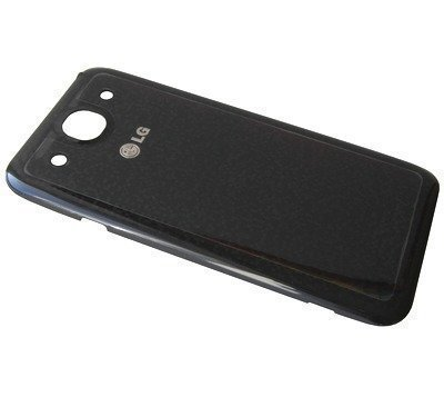 Akkukansi / Takakansi LG E986 Optimus G Pro musta