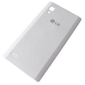 Akkukansi / Takakansi LG P760 OptimusL9 valkoinen