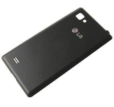 Akkukansi / Takakansi LG P880 Optimus 4X HD musta