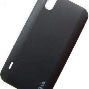 Akkukansi / Takakansi LG P970 Optimus musta musta