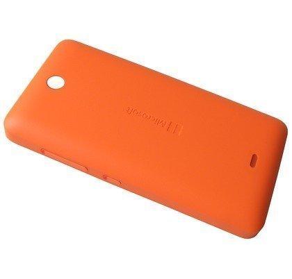 Akkukansi / Takakansi Microsoft Lumia 430 orange