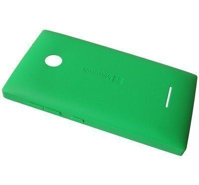 Akkukansi / Takakansi Microsoft Lumia 435/ Lumia 435 Dual Sim green