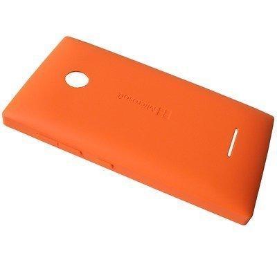 Akkukansi / Takakansi Microsoft Lumia 435/ Lumia 435 Dual Sim orange