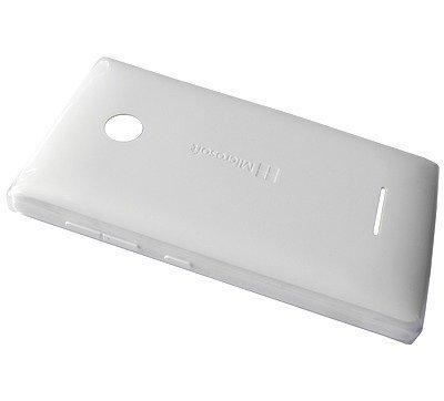Akkukansi / Takakansi Microsoft Lumia 532/ Lumia 532 Dual SIM valkoinen
