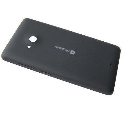 Akkukansi / Takakansi Microsoft Lumia 535/ Lumia 535 Dual SIM dark grey