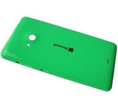 Akkukansi / Takakansi Microsoft Lumia 535/ Lumia 535 Dual SIM green