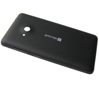 Akkukansi / Takakansi Microsoft Lumia 535/ Lumia 535 Dual SIM musta