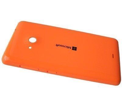 Akkukansi / Takakansi Microsoft Lumia 535/ Lumia 535 Dual SIM orange